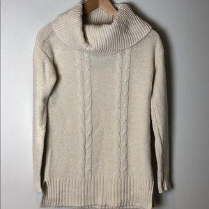 J Crew Cream Cowl Neck Sweater - Size XS